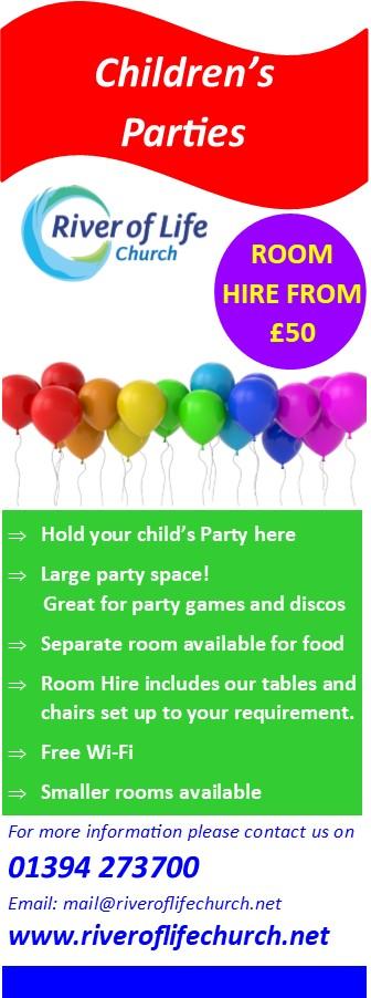 Childrens Party Flyer Page 1